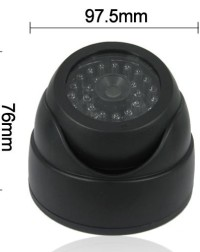 Dummy-Dome-Security-Camera-with-30pcs-False-IR-LED-Red-Activity-LED-Light-Deterrent-camera2