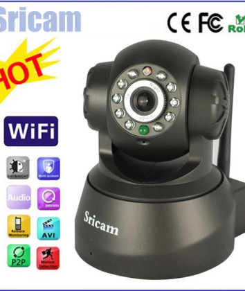 New-Arrival-Brand-Sricam-Indoor-P2P-Ip-Camera-Wireless-Home-Security-Surveillance-System-CCTV-Camera-IR1